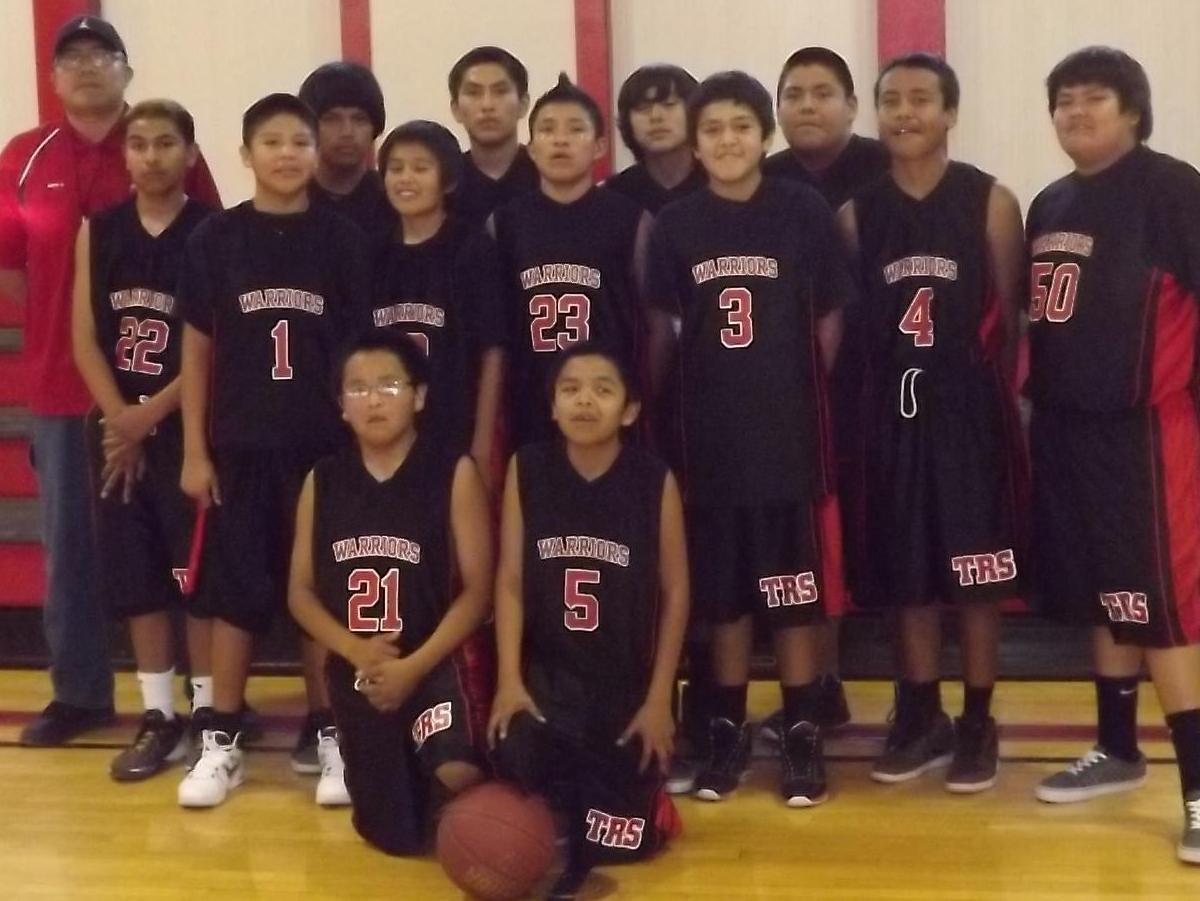 TRS Boy's Basketball Team 2013 (image)