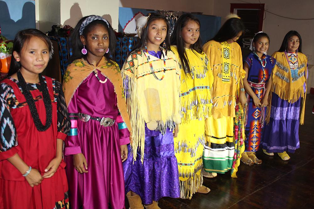 Theodore Roosevelt School Apache girls (image)