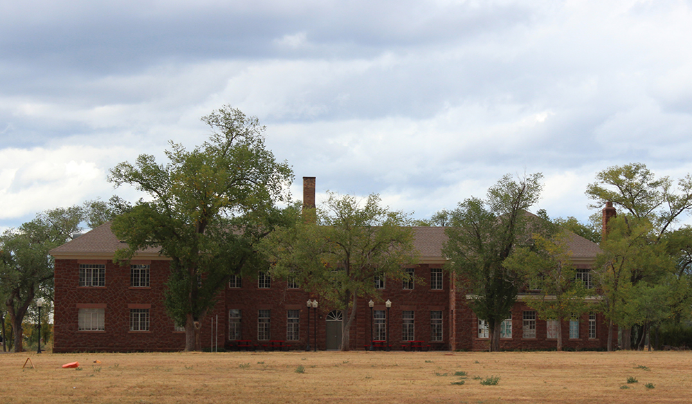 Theodore Roosevelt School dormitory (image)